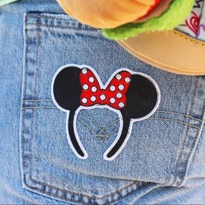 Minnie Ears Iron On Patch